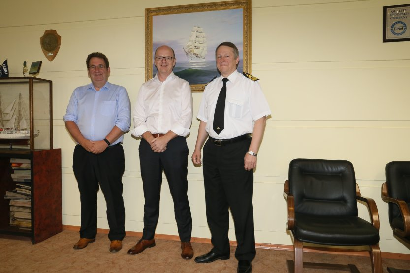 Meeting with the representatives of Thome Ship Management